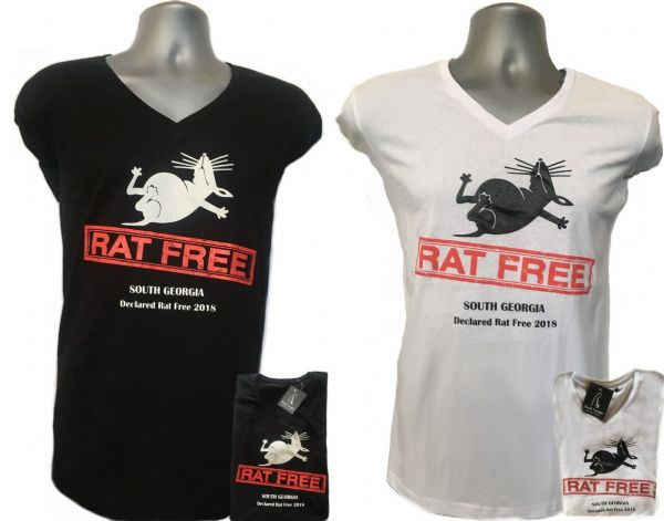 "Female Fit - South Georgia 2018 ""Rat Free"" T-Shirts"